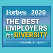 2020 Forbes Best Employers for Diversity Award